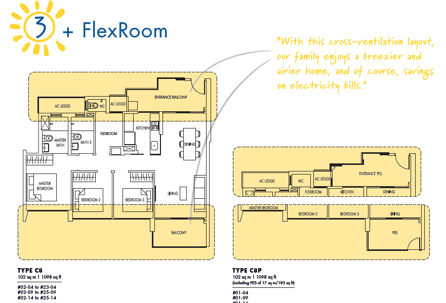3 Bedroom + Flex