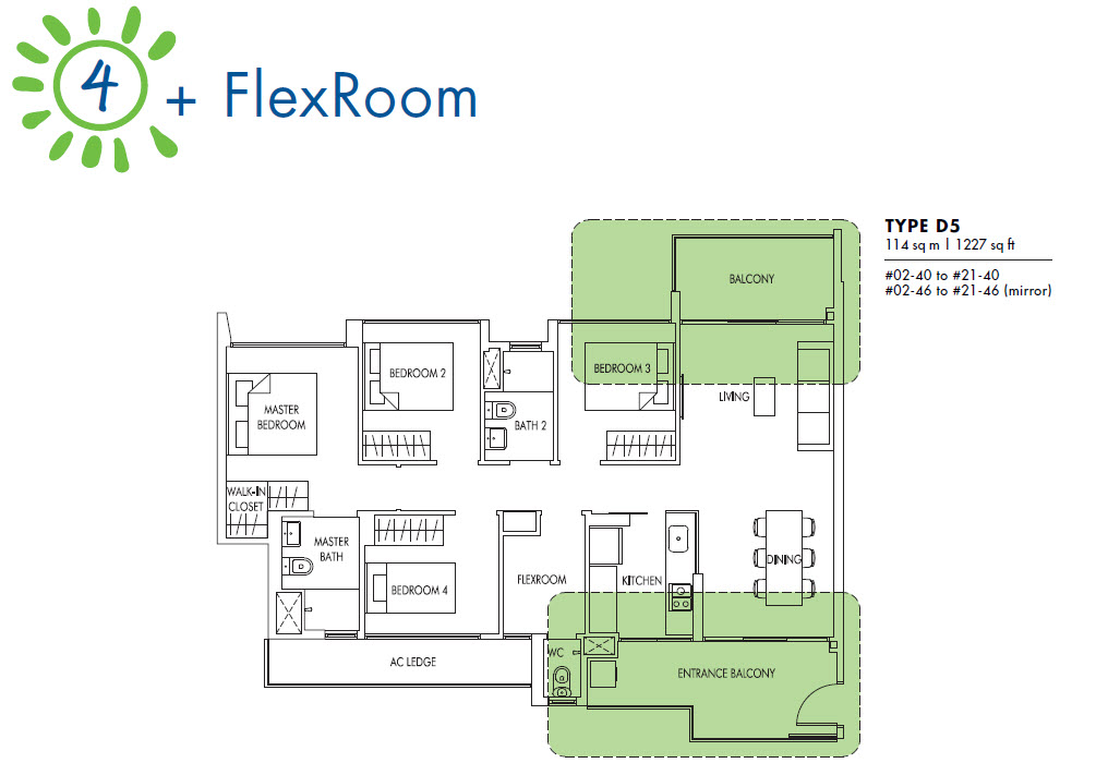 4 Bedroom + Flex